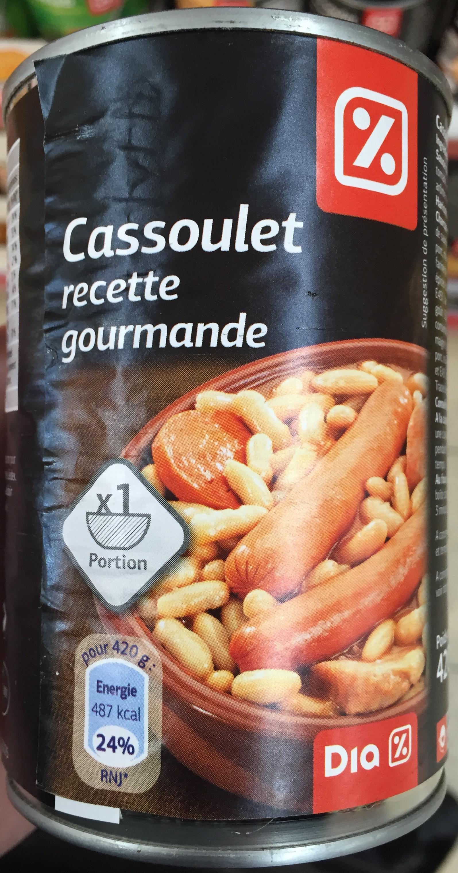 Cassoulet recette gourmande - Produit - fr