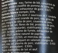 Cassoulet recette gourmande - Ingrédients - fr