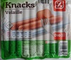 Knacks Volaille (x 10) - Product