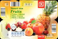 Yaourts aux Fruits (12 pots) - Produit - fr
