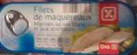 Filets de maquereaux (Marinés au vin blanc et aux aromates) - Product - fr