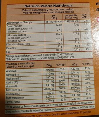 Choco Pillows - Dia - Nutrition facts - fr