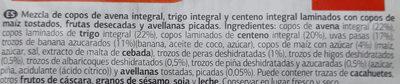Dia Muesli De Frutas - Ingredientes