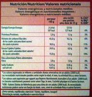Petit beurre au chocolat noir - Nutrition facts - fr