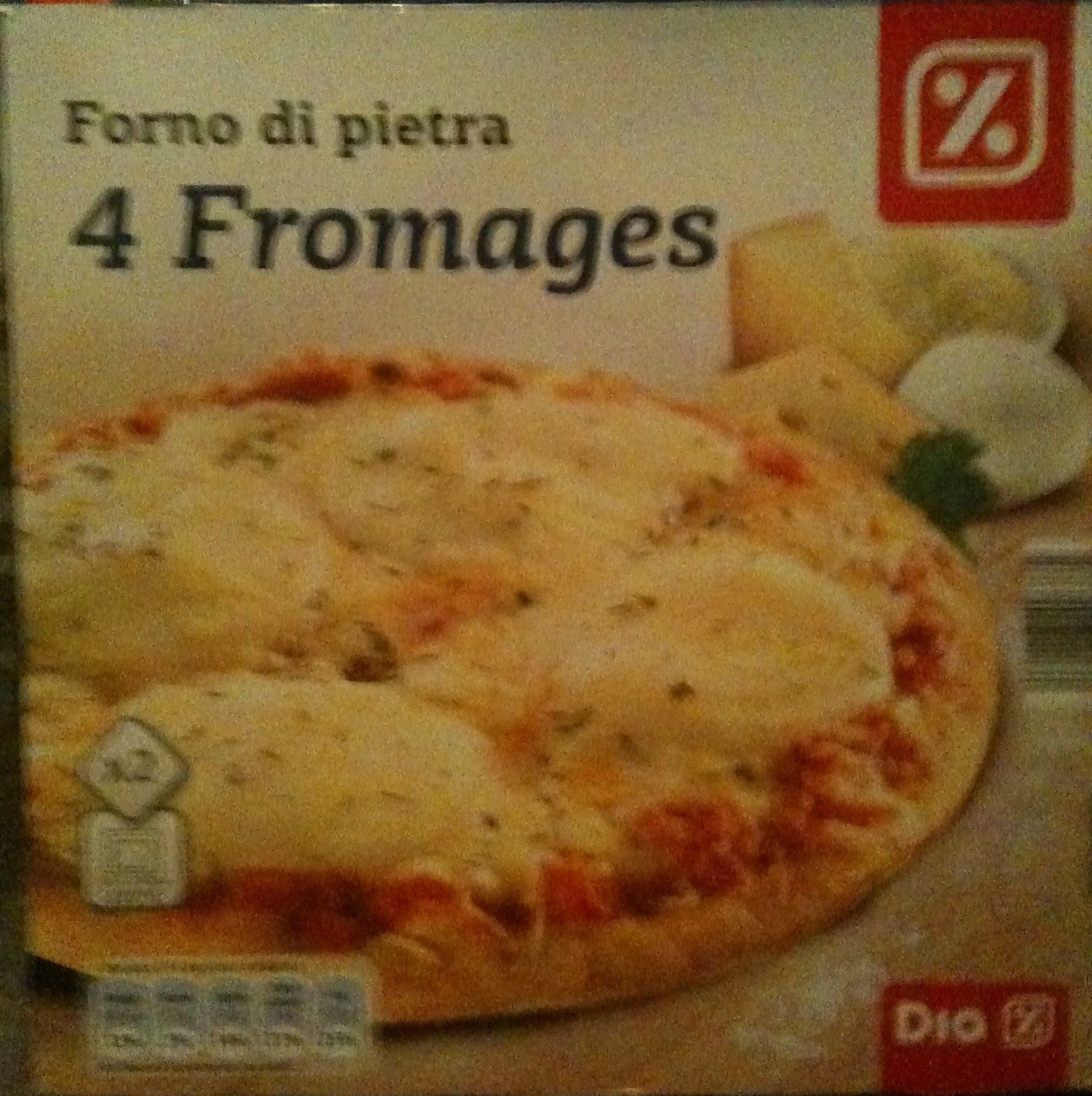 Forno di pietra 4 Fromages x2 - Product - fr