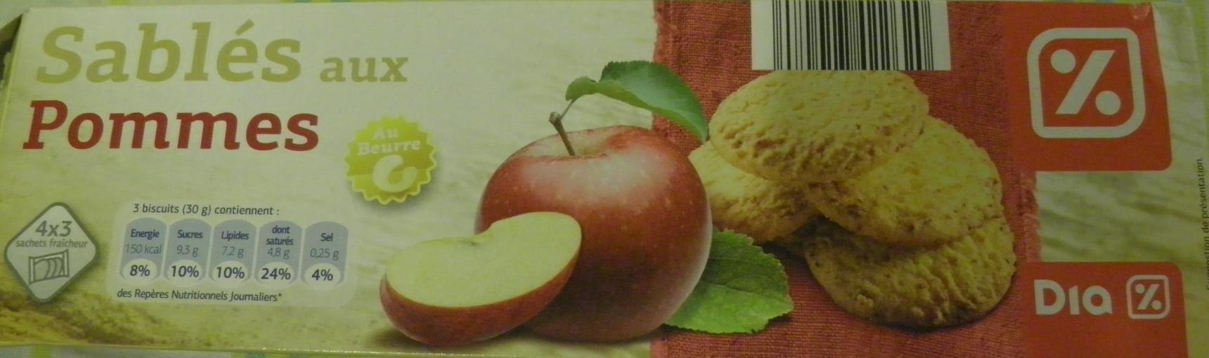 Sablés aux pommes - Produit