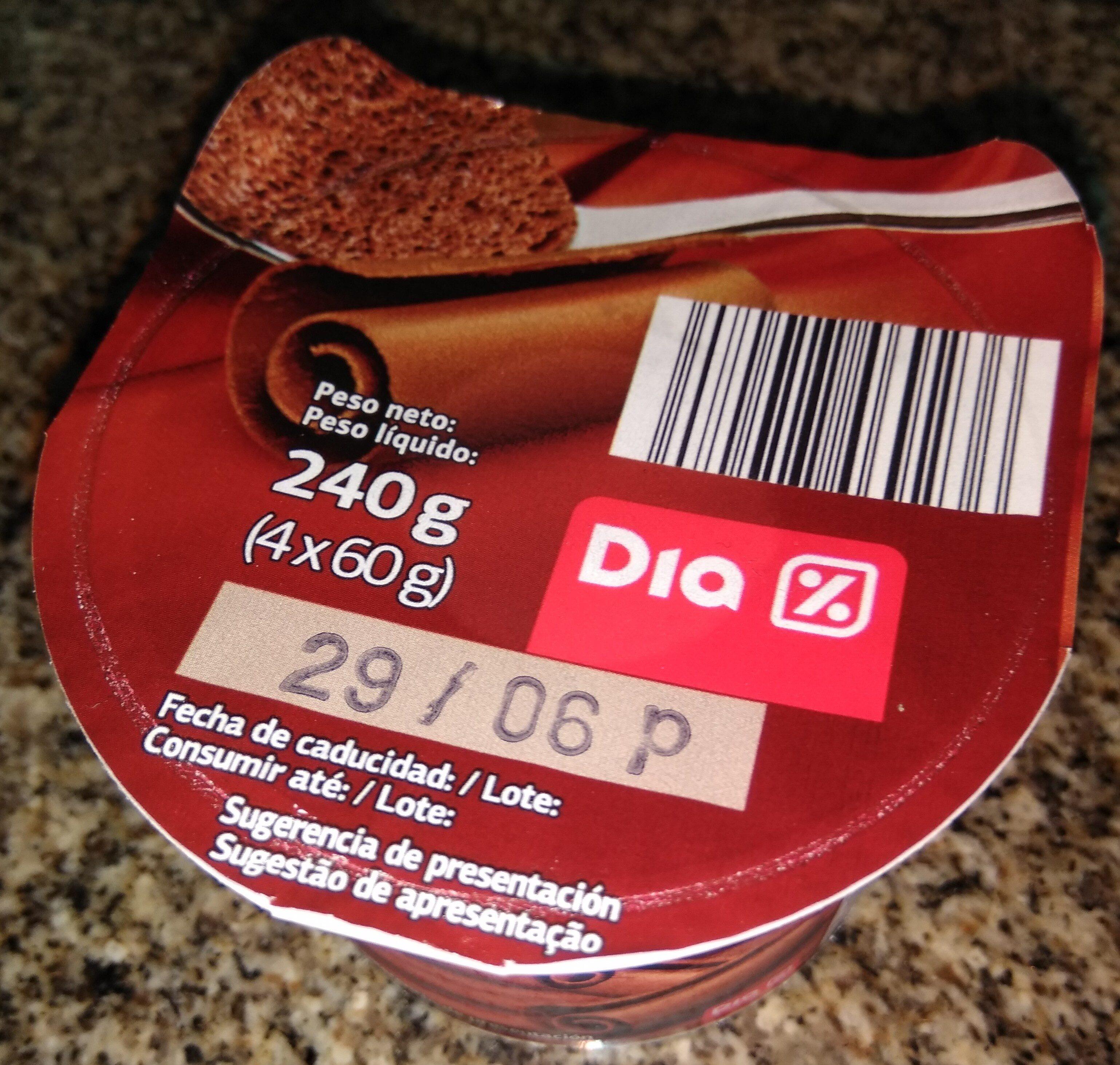 Mousse de chocolate - Producte - es