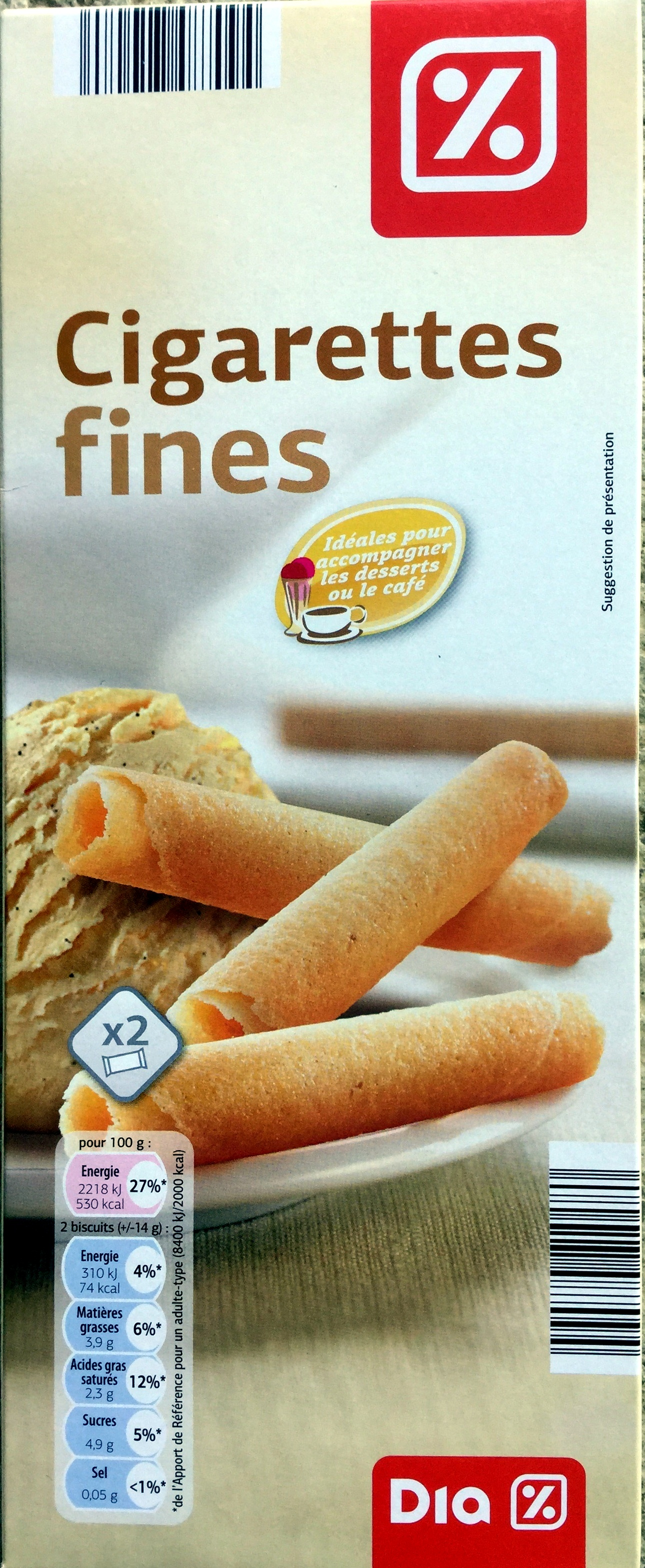 Cigarettes fines - Product - fr
