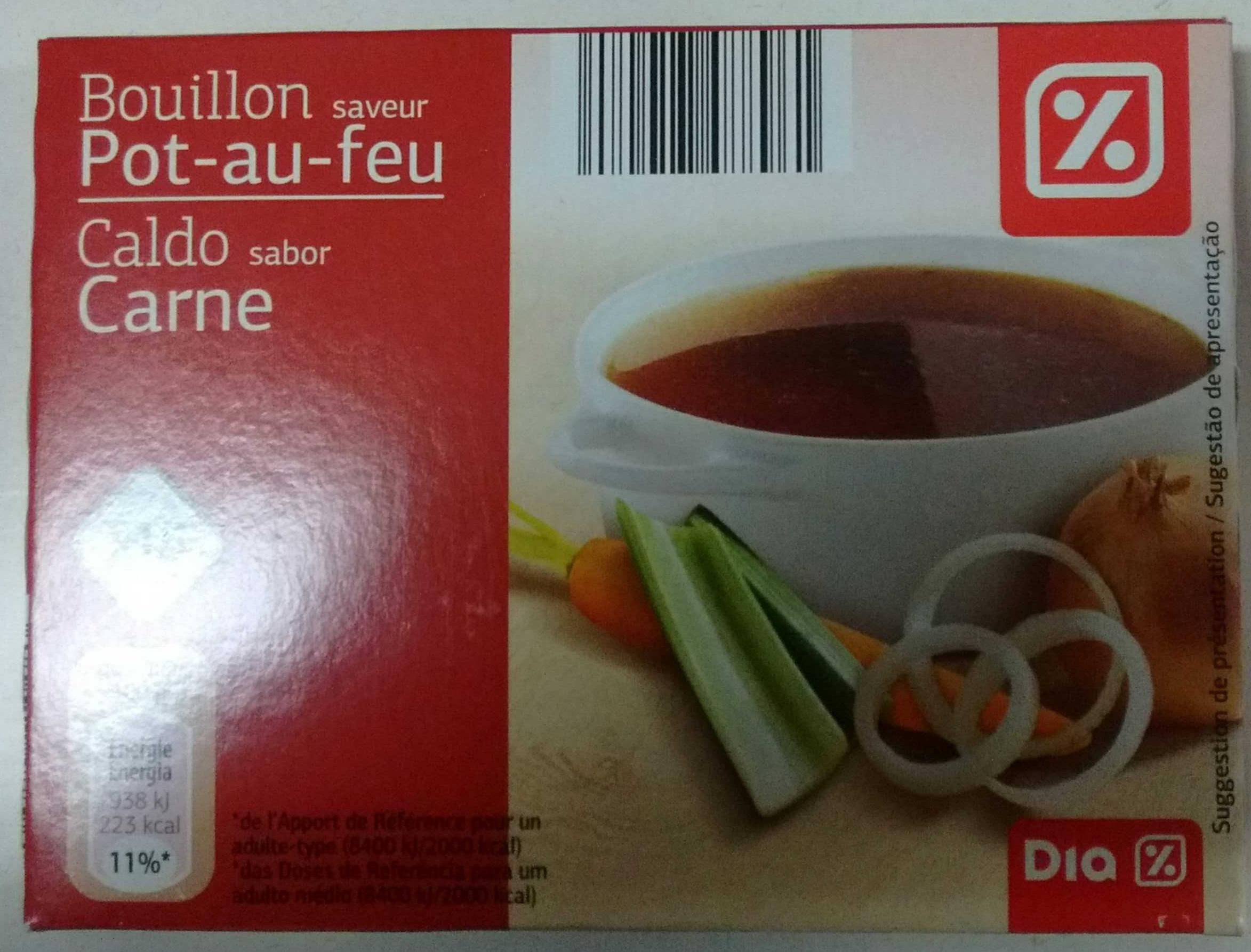 bouillon saveur pot au feu dia 150 g