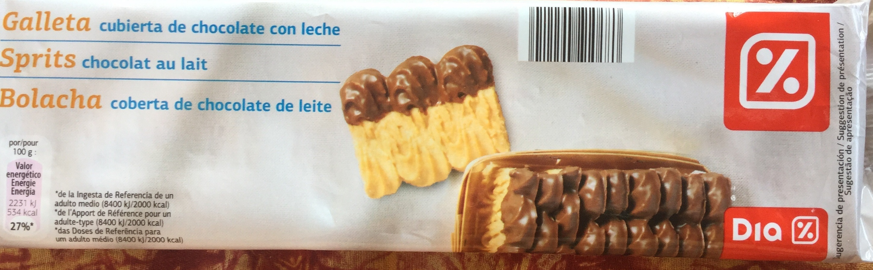 Sprits - chocolat au lait - Producto - fr