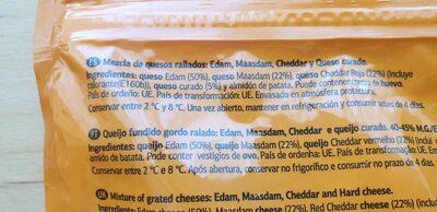 4 quesos - Ingredienti - pt