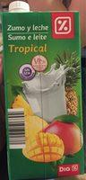 Zumo y leche tropical - Produit