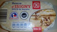 Beurre d'Isigny doux de baratte - Product