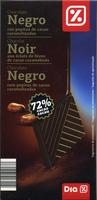 Chocolat noir aux éclats de fêve de cacao caramélisés - Producte