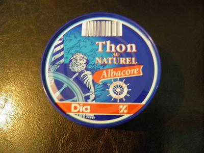 Thon au Naturel (Albacore) - Product