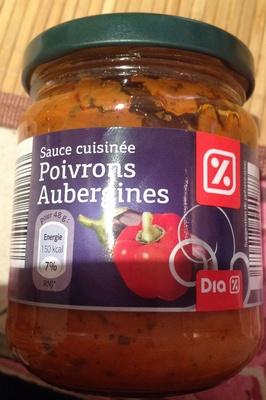 Sauce cuisinée Poivrons Aubergines - Product - fr
