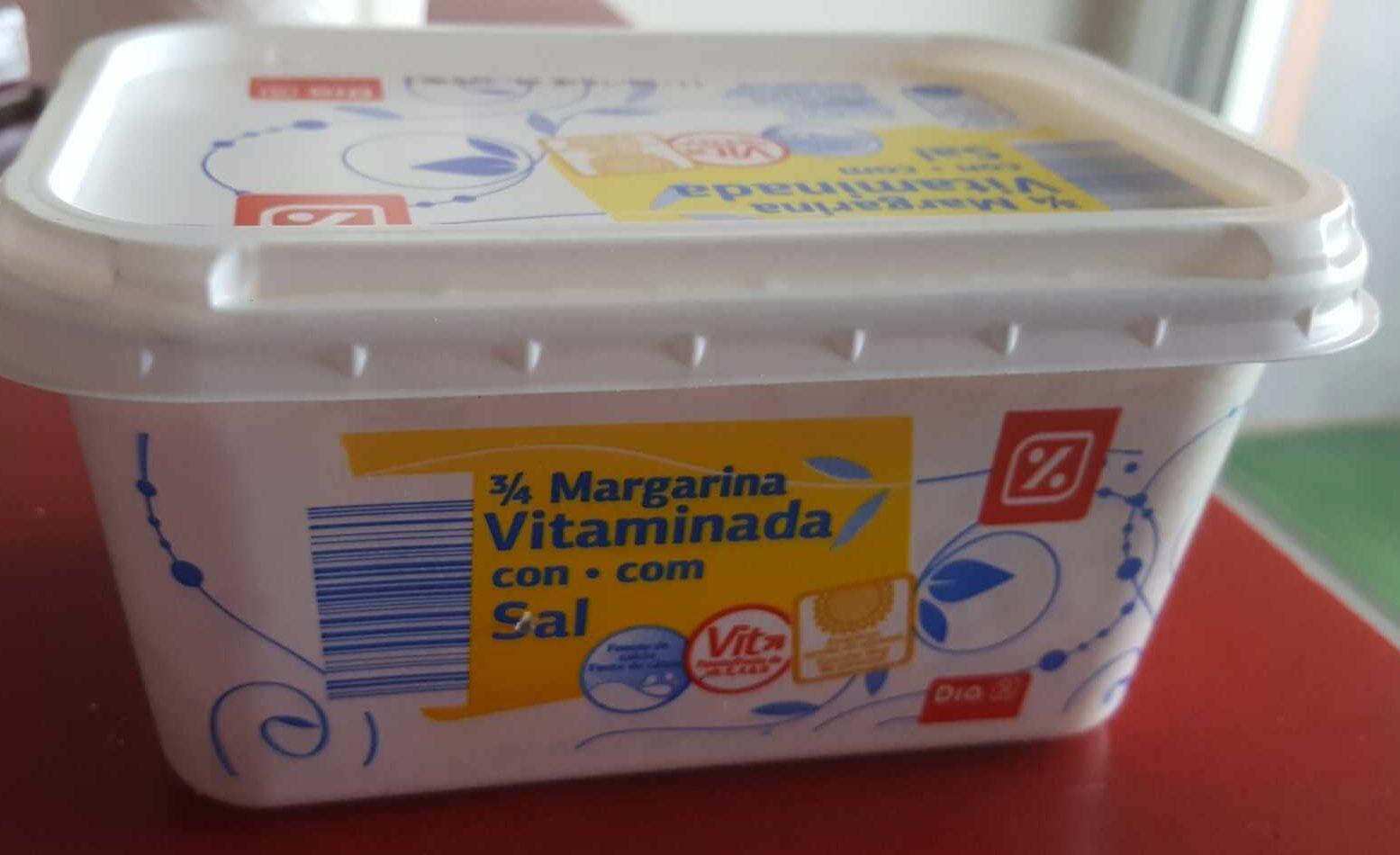Margarina vitaminada con sal - Producto