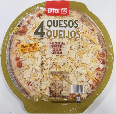 Pizza 4 quesos - Producto - es