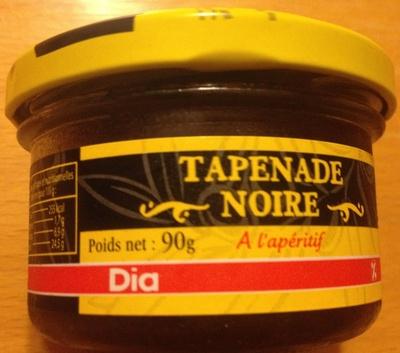 Tapenade noire - Produit - fr