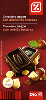 Chocolate negro con avellanas 55% cacao - Product