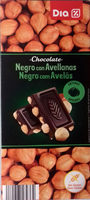 Chocolate Negro con Avellanas - Product