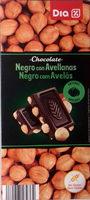 Chocolate Negro con Avellanas - Producto