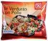 Parrillada de verduras con pollo - Product