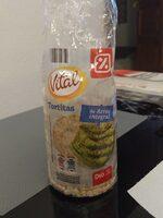 Tortitas de arroz integral - Produto - es