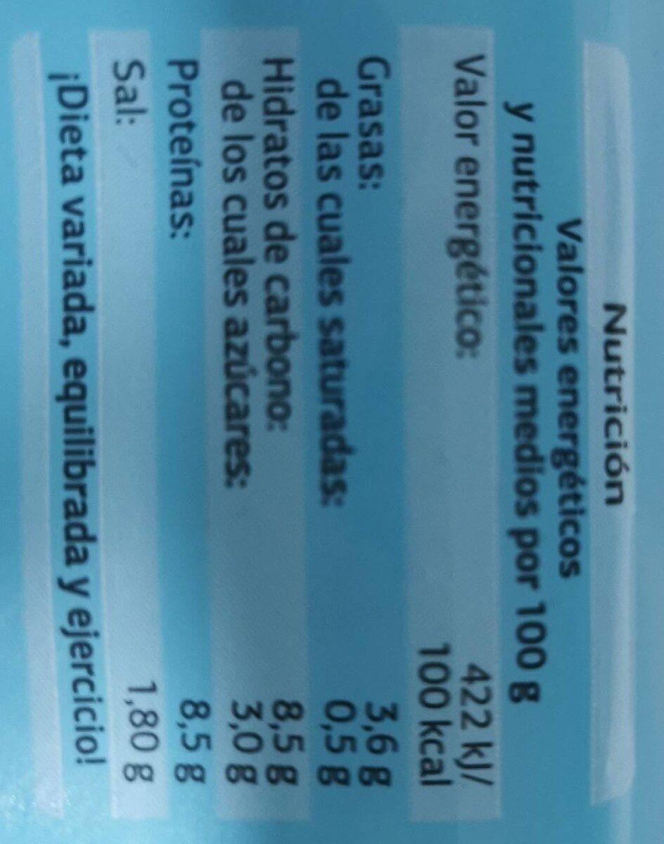 Palitos de surimi - Valori nutrizionali - fr