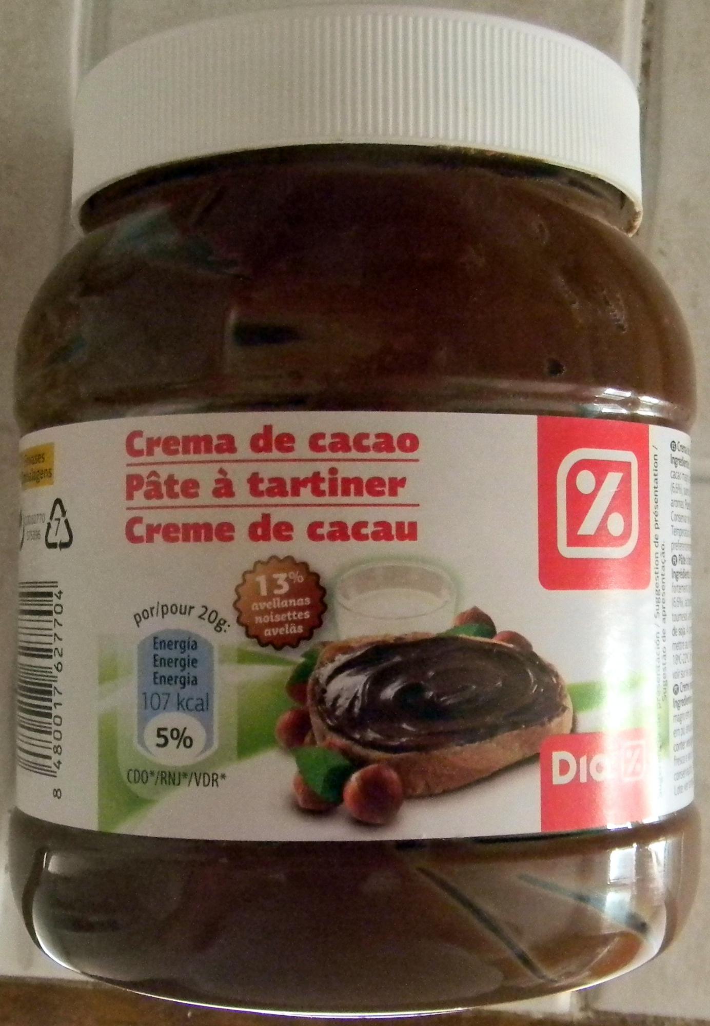 Pâte à tartiner - Prodotto - fr