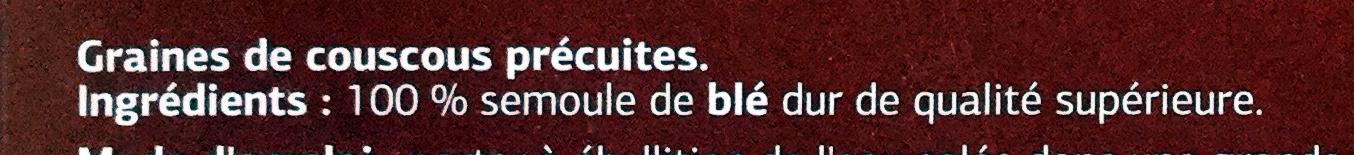 Couscous moyen - Ingredients - fr