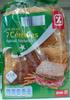 Pain de mie 7 céréales spécial sandwich - Produit