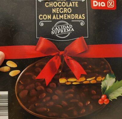 Torta de chocolate negro con almendras - Produit - es