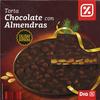 Torta de chocolate negro con almendras - Producte