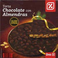 Torta de chocolate negro con almendras - Producto - es