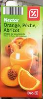 Nectar Orange, Pêche, Abricot - Produit - fr