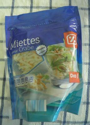 Miettes saveur crabe Dia - Product - fr