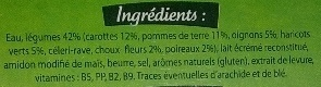 Velouté Légumes - Ingrediënten