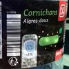 Cornichons aigres-doux - Product