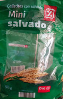 Mini cracker salvado - Producto - es