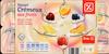 Yaourt Crémeux aux fruits (Abricot - Pêche - Fraise - Cerise - Cassis - Ananas) - Produit