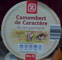 Camembert de Caractère au Lait Pasteurisé (21 % MG) - Product