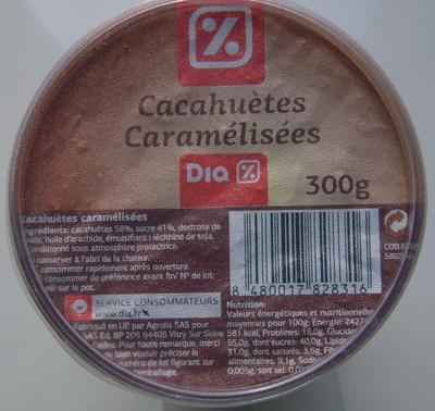 Cacahuètes caramélisées - Product
