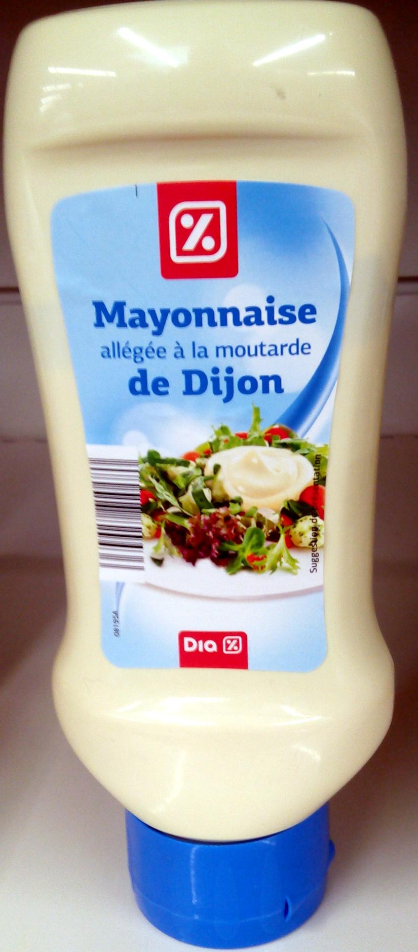 Mayonnaise allégé à la moutarde de Dijon - Product