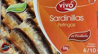 Sardinillas en escabeche - Produit - es