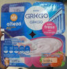 Yogur griego con fresa