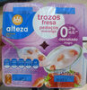 Yogur trozos fresa - Producto