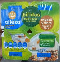 Bifidus con trozos mueslis y fibra - Product