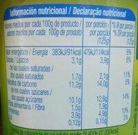 Bifidus con trozos mueslis y fibra - Voedingswaarden