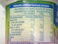 Bífidus con trozos Kiwi - Información nutricional - es
